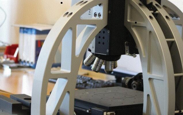 3D mesure par Alicona sans contact