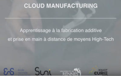 CLOUD MANUFACTURING – FABRICATION CONNECTÉE
